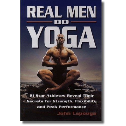 Pretty Book Cover Yoga ~ Men do you have the balls to try yoga just b