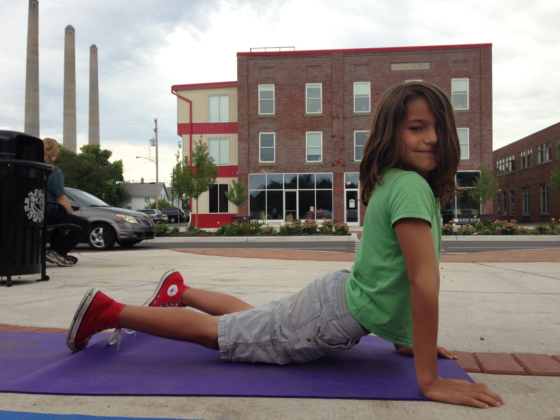 Yoga Photo Art from REO Town Art Attack