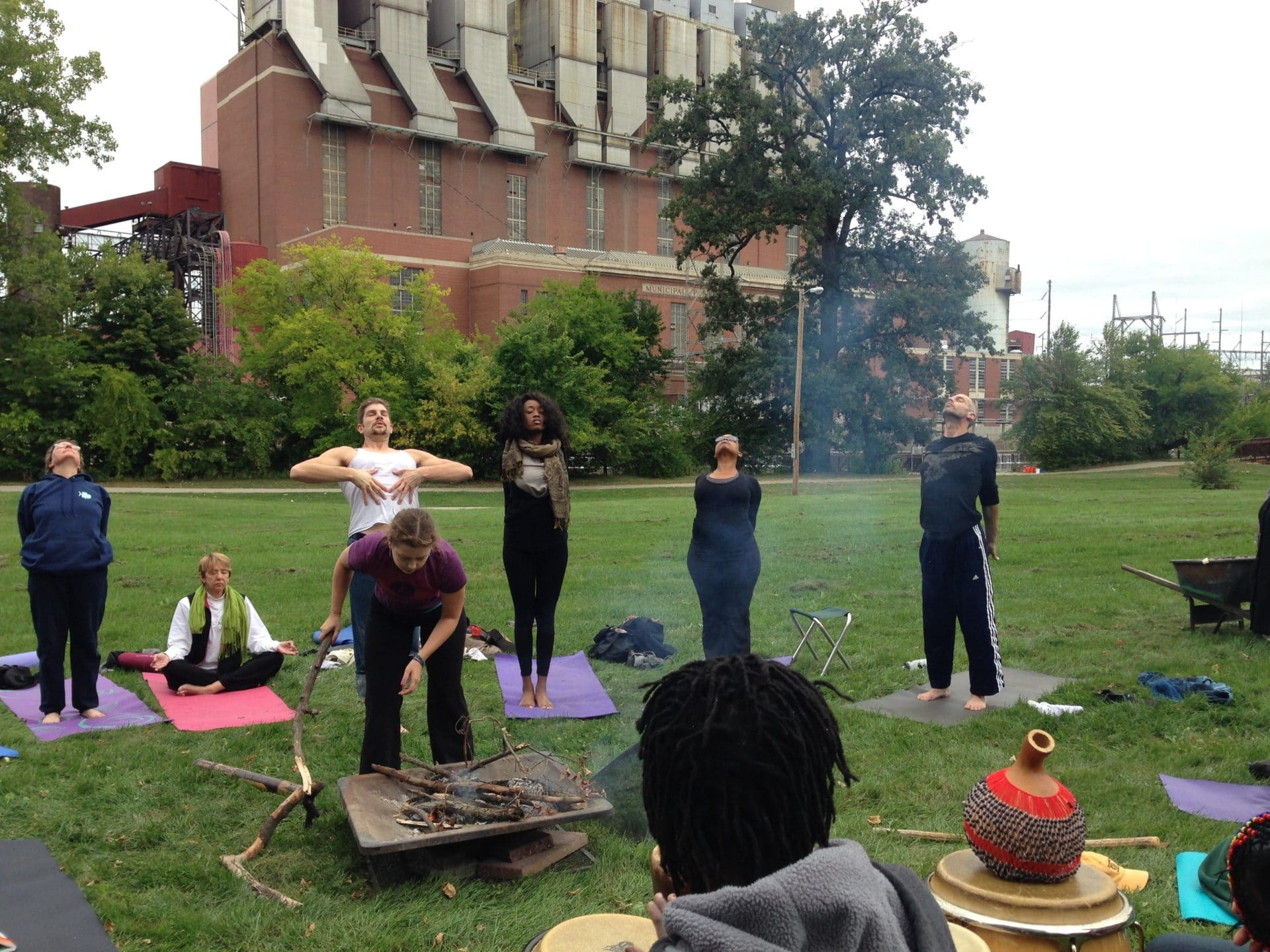 The Just B Yoga neighborhood: Moores Park concert in the park