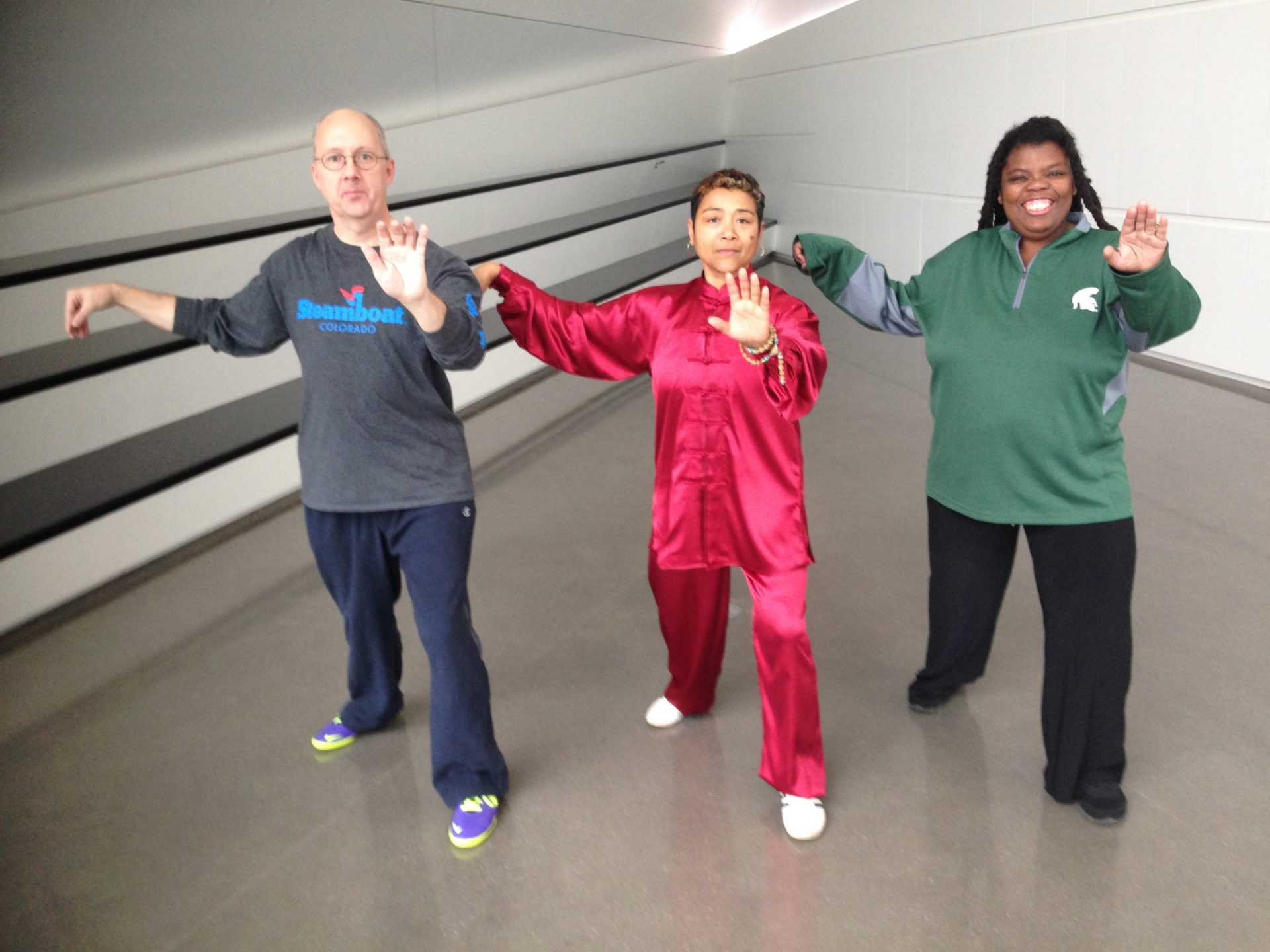 Just B Yoga offers FREE Tai Chi at the Broad Museum