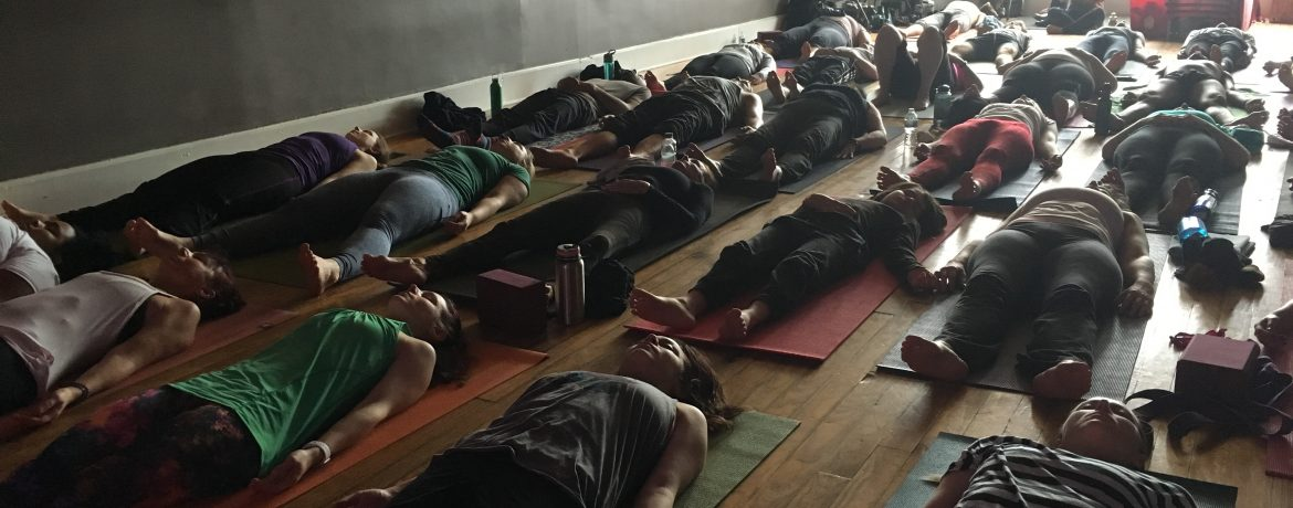 All are welcome at Just B Yoga, even if you voted for Trump