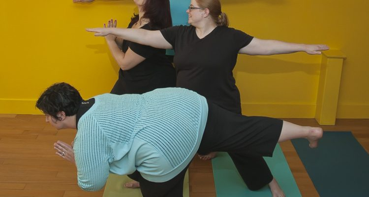 We want to add another Plus-sized yoga class; vote here