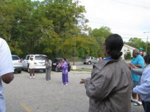 South Side Community Coalition yoga and qi gong demonstrations