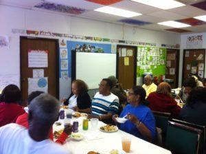 South Side Community Coalition yoga presentation