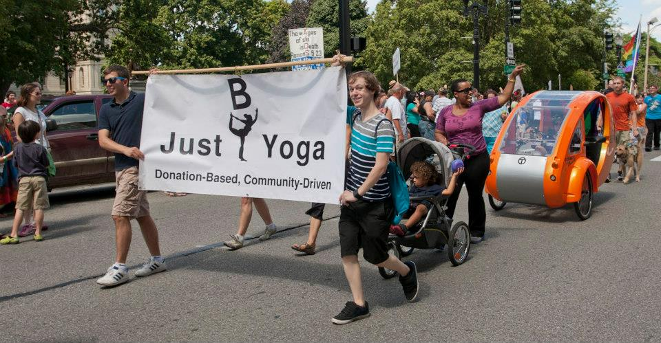 Donation-based yoga doesn't mean cheap or discount