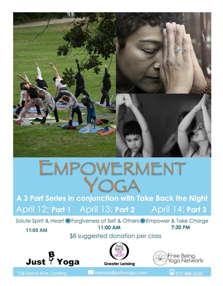 Empower TBTN Yoga poster