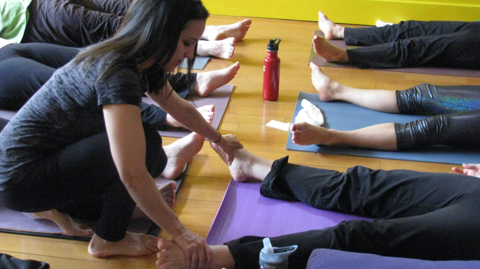 Apply to teach at Just B Yoga