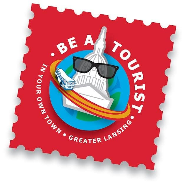 be a tourist logo