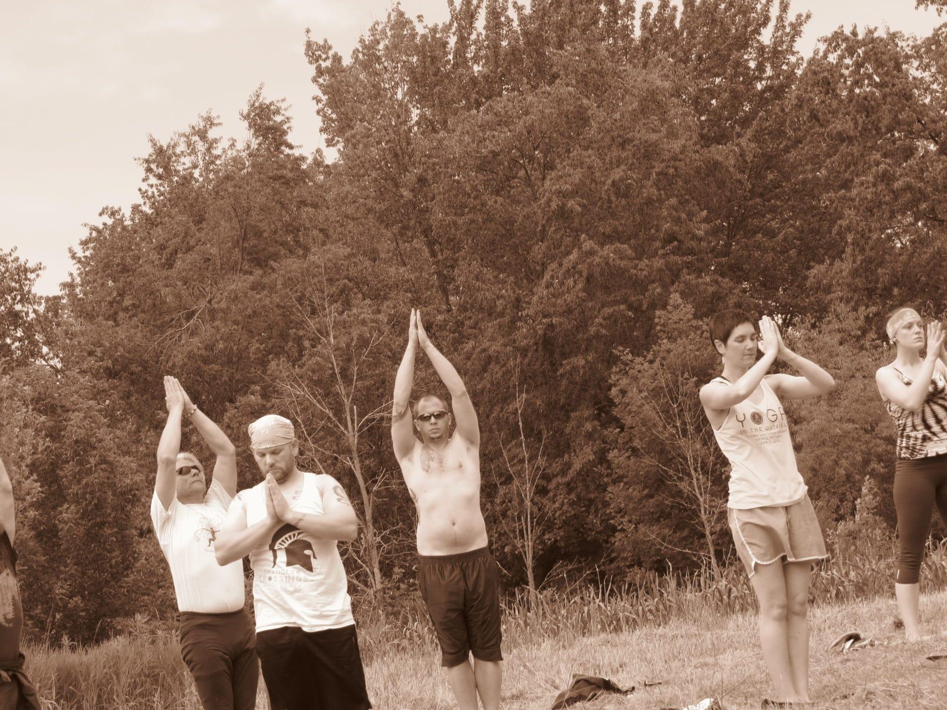Photos: Yoga at Green Eagle Farm by Brigid Ashley-Grose