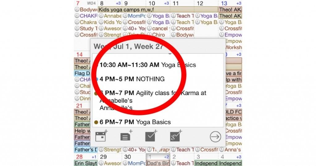 make sit happen calendar