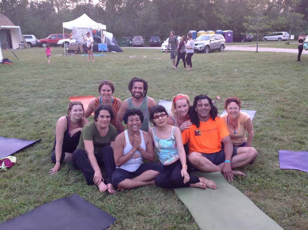 Sharing movement, ideas and community at Yoga Fest.