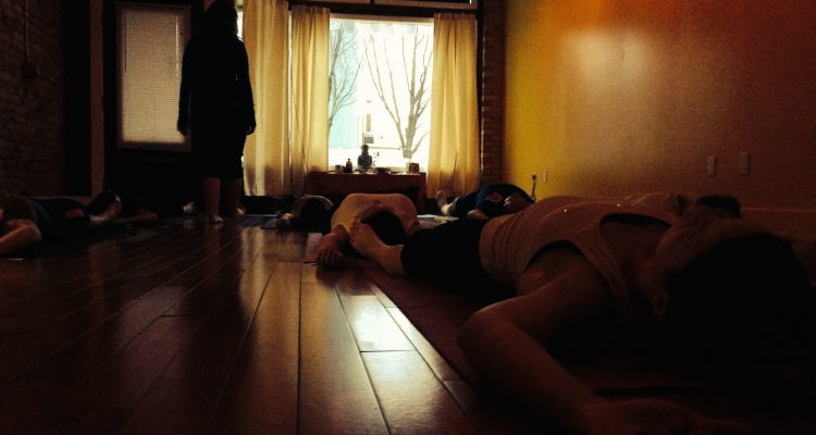 Surrendering to our yoga practice and in our recovery