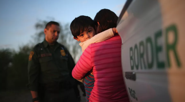 """Flex your yoga muscles against child """"abductions"""" at the U.S. border"""